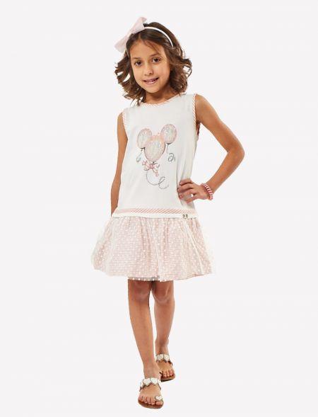 DRESS WITH STRASS GIRL EBITA