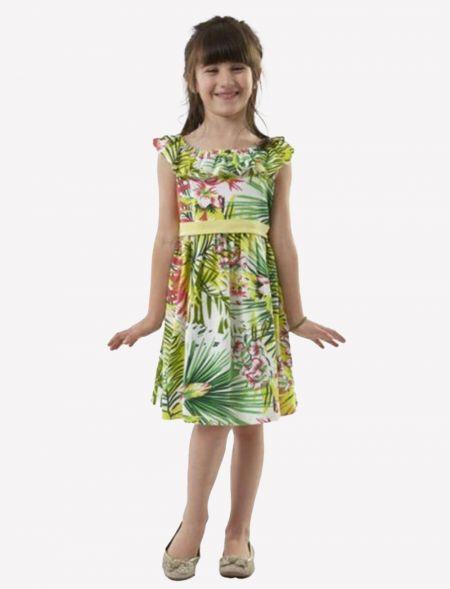 FLORAL DRESS GIRL EBITA