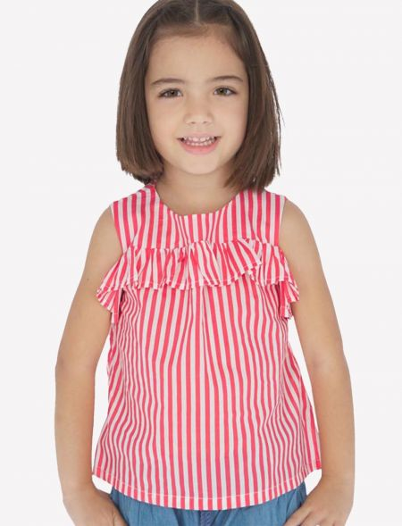 SMOCK WITH STRIPES AND...