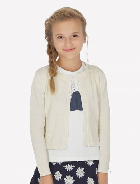 SPRING KNITTED JACKET GIRL...