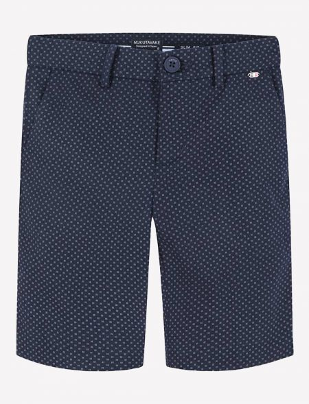 BERMUDA SHORTS LINEN WITH...