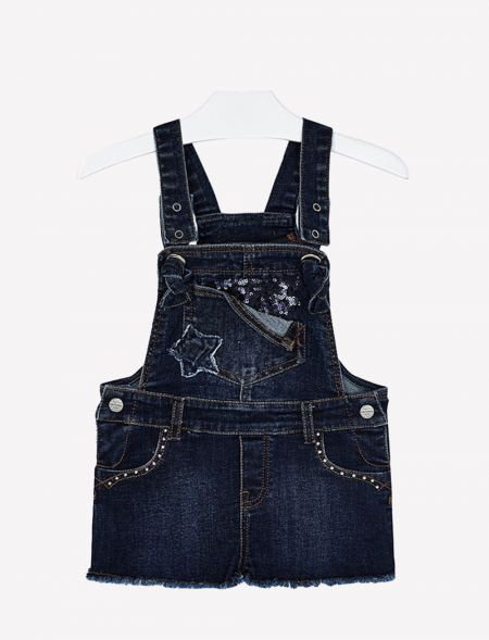 JEAN OVERALL SHORTS GIRL...