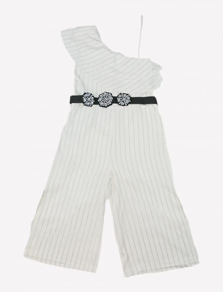 OVERALLS WITH STRIPES AND...
