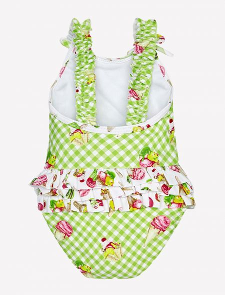 BABY SWIMSUIT CHECKERED...