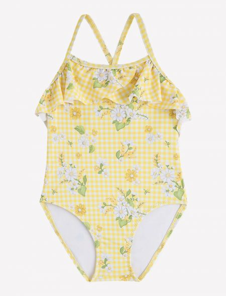 SWIMSUIT CHECKERED WITH...
