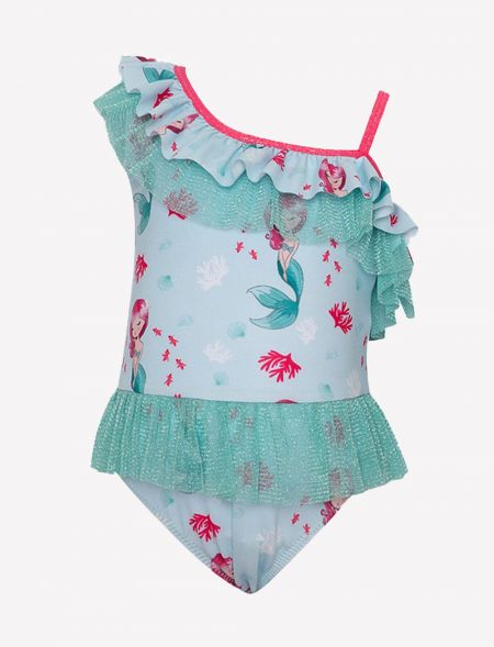 SWIMSUIT MERMAID WITH TULLE...
