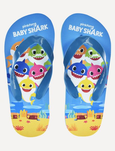 BEACH FLIP-FLOPS BABY SHARK...