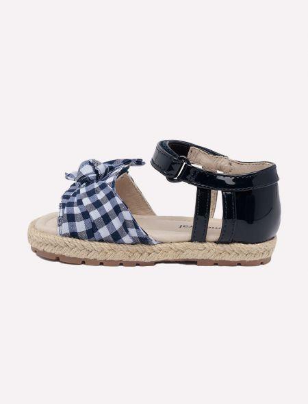 Gingham sandal for baby...