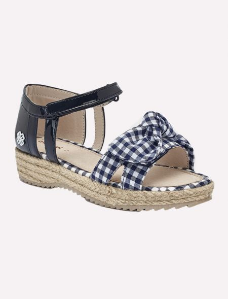 Wicker vichy sandals for...