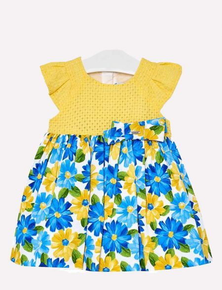 DRESS WITH FLOWERS FOR...